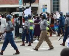 Au Zimbabwe, la police a arrêté 46 personnes qui assistaient à une réunion sur la situation en Egypte.