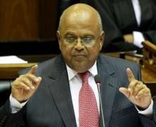 Pravin Gordhan, Ministre des Finances de l'Afrique du Sud
