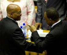 Paré pour réussir : Le vice président Kgalema Motlanthe se prépare à attaquer le président Jacob Zuma