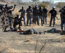 Afrique du Sud : massacre à la mine de Marikana