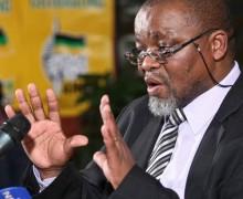 Gwede Mangashe, secrétaire général de l'ANC