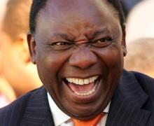 Cyril Ramaphosa vice président de l'ANC